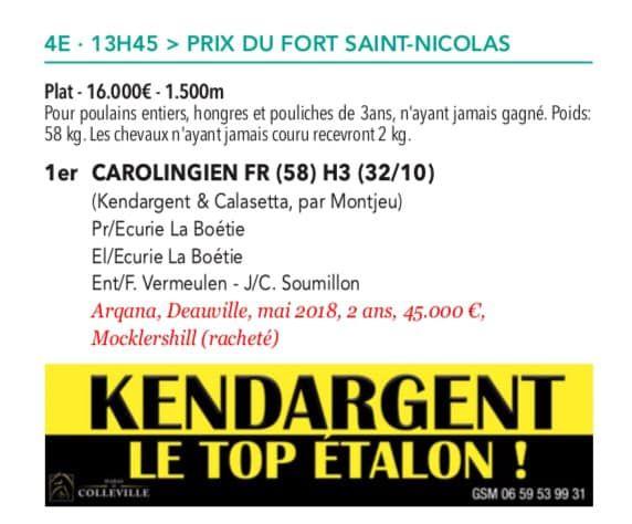 Prix du Fort Saint-Nicolas