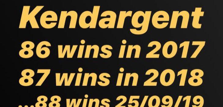 Ken 88 victoires en 2019